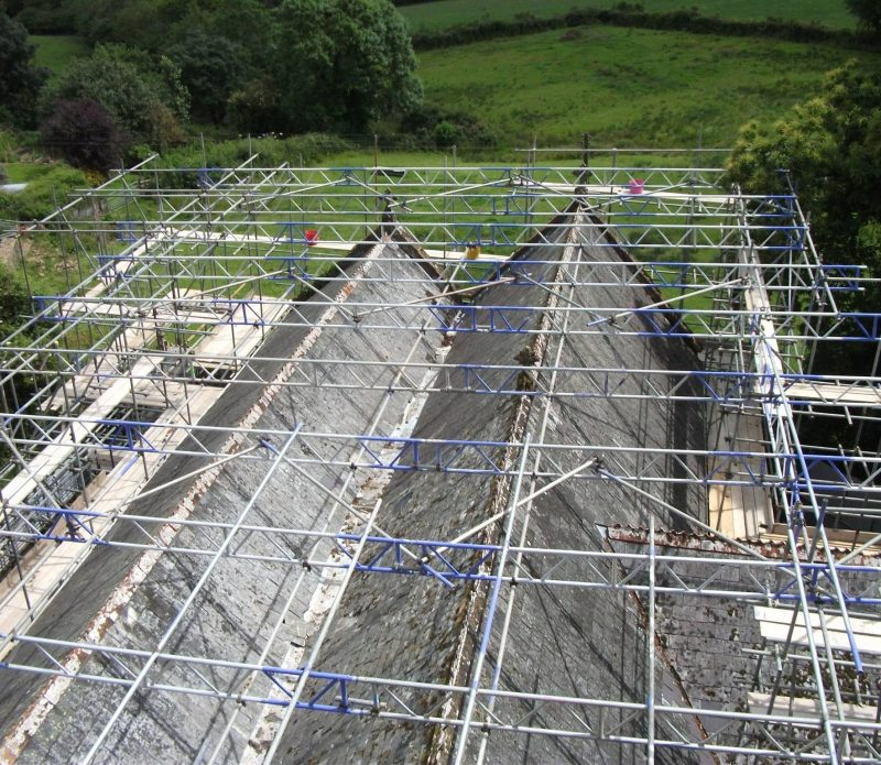 Temporary Roofs Devon - Bideford - Taw & Torridge Scaffolding Ltd
