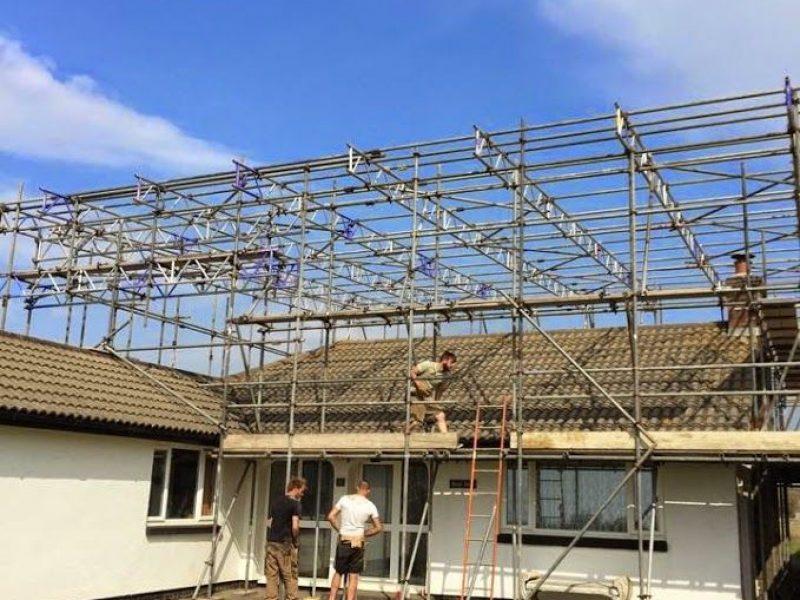 Temporary Roofs Devon - Bideford - Taw & Torridge Scaffolding Ltd