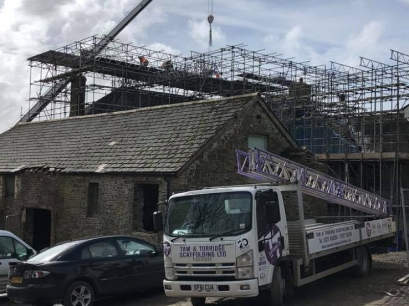 Scaffolding Services Bideford and Devon - Taw & Torridge Scaffolding Ltd
