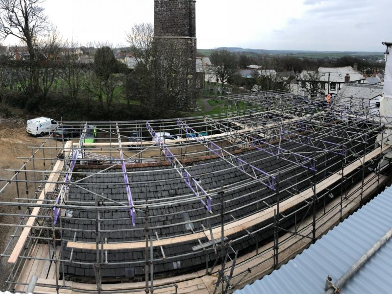 Scaffolding Contractors Bideford and Devon - Taw & Torridge Scaffolding Ltd