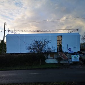 Shrink Wrapping Devon - Bideford - Taw & Torridge Scaffolding Ltd