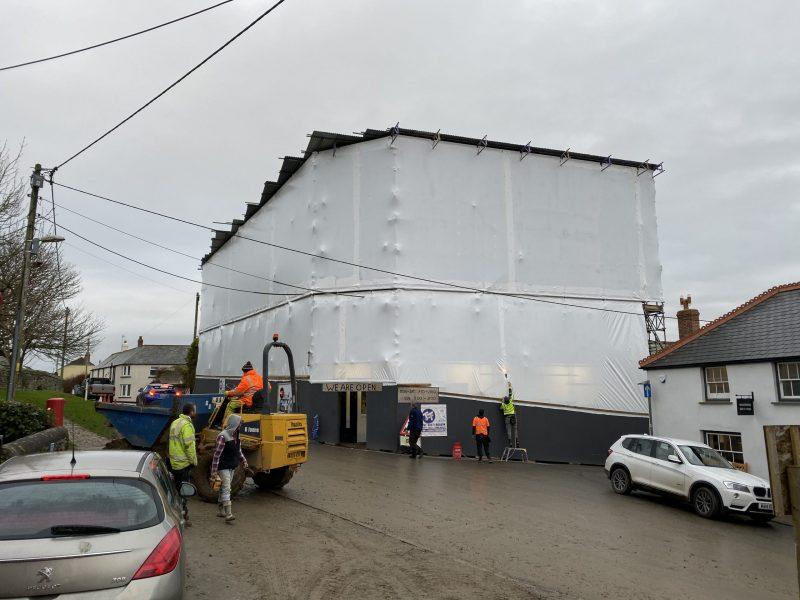 Shrink Wrapping Devon - Bideford - Taw & Torridge Scaffolding Ltd