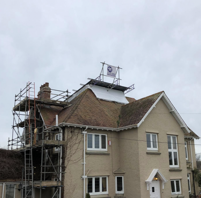 Domestic Scaffolding Devon - Bideford - Taw & Torridge Scaffolding Ltd