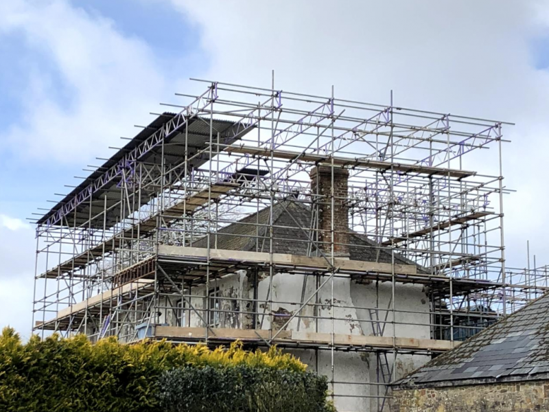 Domestic Scaffolding Devon - Bideford - Taw and Torridge Scaffolding Ltd